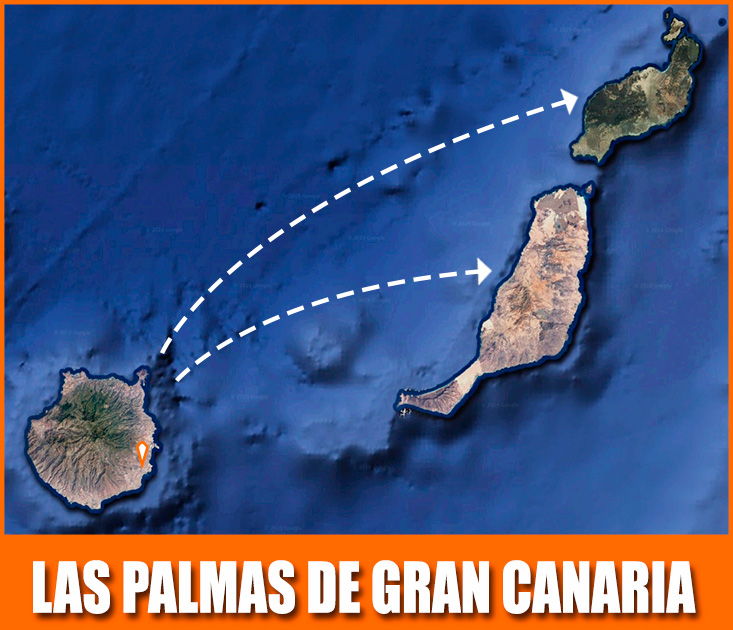 ruta las palmas islas canarias panel sandwich multipanel